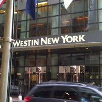 Photo taken at The Westin New York at Times Square by Funhiguy on 10/7/2012