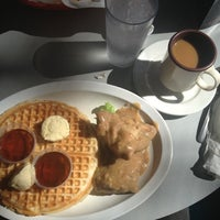 Photo taken at Home of Chicken and Waffles by Erick B. on 10/4/2012