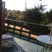 Photo taken at Hotel Rocas De Santo Domingo by Macarena on 10/9/2012