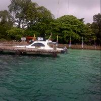 Photo taken at Pulau Karya by phang m. on 3/10/2013