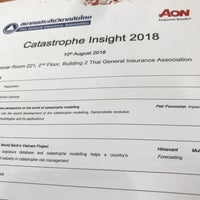 Photo taken at Thai General Insurance Association by Jon W. on 8/10/2018