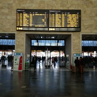 Photo taken at Firenze Santa Maria Novella Railway Station (ZMS) by Abdullah A. on 1/12/2013
