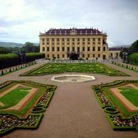 Photo taken at Schonbrunn Palace by Abdullah A. on 5/20/2013