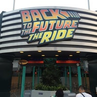Photo taken at Back To The Future - The Ride by Chris L. on 10/17/2012
