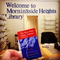 Photo taken at New York Public Library - Morningside Heights Library by Lea on 8/15/2013