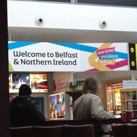 Photo taken at George Best Belfast City Airport (BHD) by Dawn M. on 3/13/2013