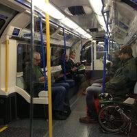 Photo taken at Arnos Grove London Underground Station by Dawn M. on 9/27/2012