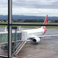 Photo taken at Qantas Flight QF752 by Cameron J. on 7/12/2013