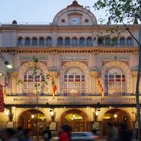 2/19/2016 tarihinde Liceu Opera Barcelonaziyaretçi tarafından Liceu Opera Barcelona'de çekilen fotoğraf