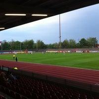 Photo taken at Südstadion by Jens B. on 5/3/2013