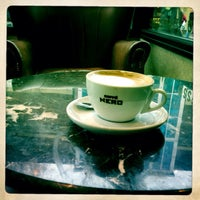 Photo taken at Caffè Nero by Rob R. on 2/1/2014