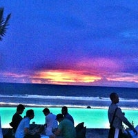 Photo taken at Potato Head Beach Club by Rv F. on 1/19/2013