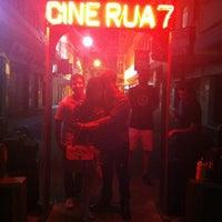 Photo taken at Cine Rua Sete by Anna R. on 5/5/2013