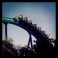 Photo taken at Six Flags Magic Mountain by Lewis C. on 5/12/2013