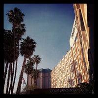 Photo taken at Four Points by Sheraton Los Angeles International Airport by Lewis C. on 5/11/2013