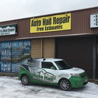 Photo taken at Auto Hail and Dent Center by Auto Hail and Dent Center on 2/2/2017