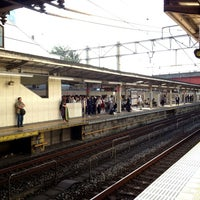Photo taken at Asakadai Station (TJ13) by Naotaka S. on 6/21/2013