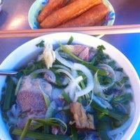 Photo taken at Phở Phú Gia by TrangDuong on 9/15/2013