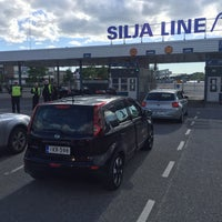 Photo taken at Silja Line Car Check-In by Mika O. on 6/4/2016