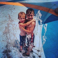 Photo taken at Falcon Pointe Splash Park by Jon E. on 7/6/2013