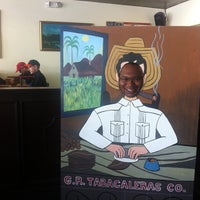 Photo taken at G.R. Tabacaleras Co. Cigar Store and Lounge by Justin C. on 2/9/2013