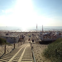 Photo taken at Strand Bergen aan Zee by Robert R. on 7/23/2013