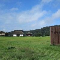 Photo taken at Hirasawa Kanga Ruins by Satoshi N. on 10/6/2013