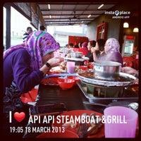 Photo taken at Api Api Steamboat & Grill by Rizalku on 3/18/2013