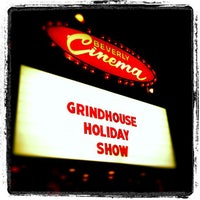 Photo taken at New Beverly Cinema by Mike B. on 12/19/2012