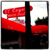 Photo taken at El Coyote by Mike B. on 5/17/2013