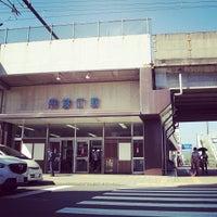 Photo taken at 丹波口駅 (Tambaguchi Sta.) by Masahito A. on 9/21/2013