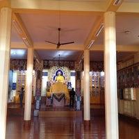 Photo taken at Dalai Lama Temple   दलाई लामा मंदिर by Vidya Sagar S. on 12/16/2012