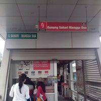 Photo taken at Halte TransJakarta Gn. Sahari Mangga Dua by wening a. on 12/31/2013