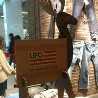 Photo taken at UFO Jeans by Christian P. on 12/20/2012