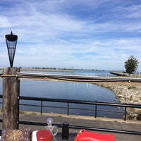 Photo taken at Demetri's on the Lake by Laura S. on 9/28/2014