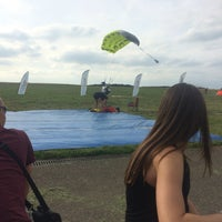 Photo taken at Skydive PCV Schaffen by Elise V. on 7/9/2016