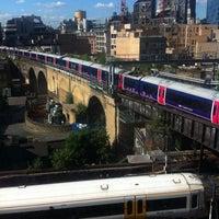 Photo taken at Travelodge London Southwark by Valer M. on 6/10/2014