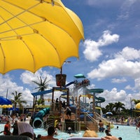 Photo taken at Sailfish Splash Waterpark by Melanie F. on 8/1/2013