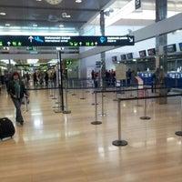 Photo taken at Zagreb International Airport (ZAG) by Kruno B. on 10/26/2012