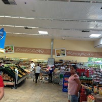 Photo taken at Cometa Supermercados by Vicente F. on 3/2/2013