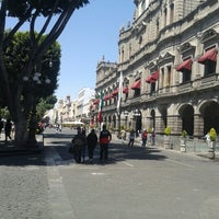 Photo taken at Los Portales de Puebla by Ingrid G. on 3/3/2013