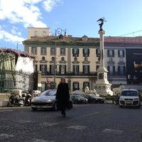 Photo taken at Piazza dei Martiri by Stefano F. on 4/5/2013