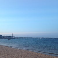 Photo taken at Provincetown Beach West End by Tim S. on 7/5/2013
