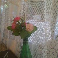 Photo taken at Santa Maria Café by Melanie M. on 9/28/2015