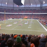 Photo taken at BC Place by Alex S. on 11/18/2012