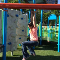 Photo taken at McEuen Park Playground by Andrew C. on 6/25/2014