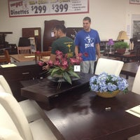 Photo taken at Bob's Discount Furniture by Jess H. on 8/2/2014