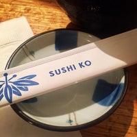 Photo taken at Sushi-Ko by UrbanFoodMaven on 11/18/2016