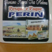 Photo taken at Pesque e Pague Perin by Paty M. on 8/18/2013