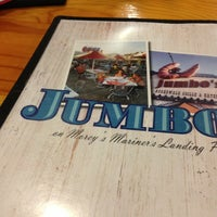 Photo taken at Jumbo's Boardwalk Grille & Eatery by Nadia P. on 7/28/2013